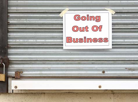 Franchise Failure Rate - Going Out of Business