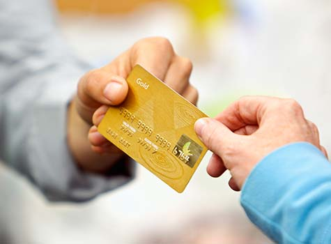 Groupon Credit Card Service