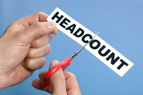 Lower Headcount at Small Businesses
