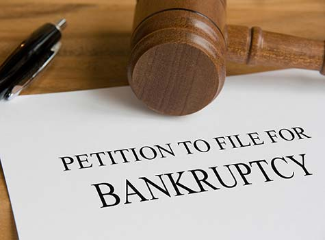 Personal Bankruptcy Filing