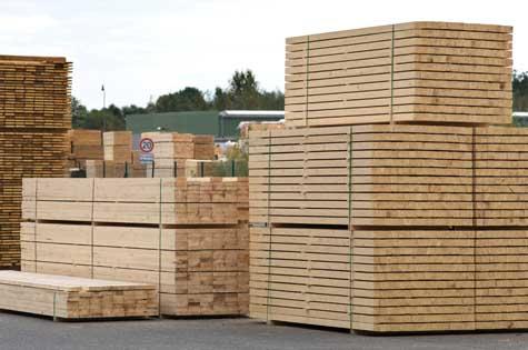 Wood yard sheds