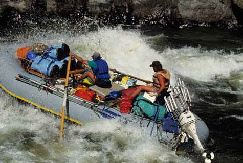Raft Trips and Tours Business