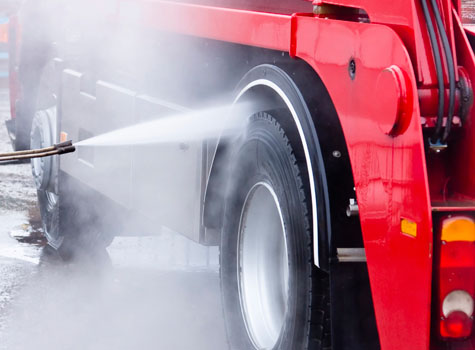 Truck Washing and Cleaning Business