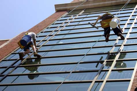 Window Cleaning Commercial & Industrial Business